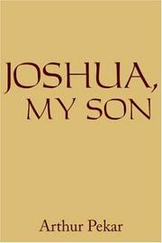 Cover of: JOSHUA, MY SON
