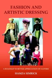 Cover of: FASHION AND ARTISTIC DRESSING