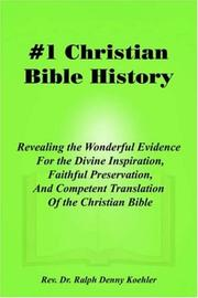 Cover of: #1 Christian Bible History
