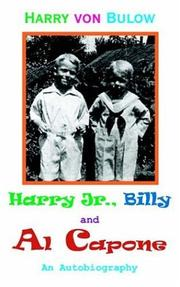 Cover of: Harry Jr., Billy & Al Capone