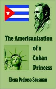 Cover of: The Americanization of a Cuban Princess