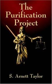 Cover of: The Purification Project