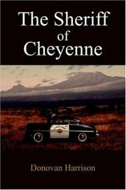 Cover of: The Sheriff of Cheyenne