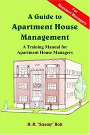Cover of: A Guide to Apartment House Management