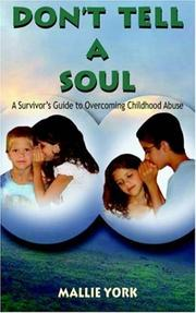 Cover of: Don't Tell a Soul