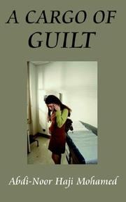 Cover of: A CARGO OF GUILT