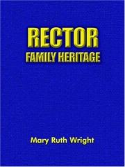 Cover of: Rector Family Heritage