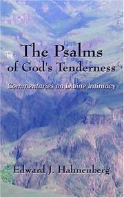 Cover of: The Psalms of God's Tenderness