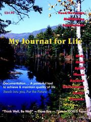 Cover of: My Journal for Life