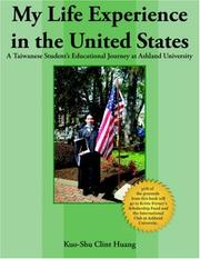 Cover of: My Life Experience in the United States