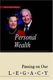 Cover of: Personal Wealth | Monroe Diefendorf