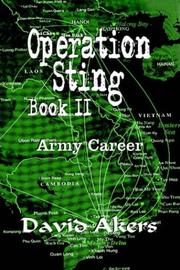 Cover of: Operation Sting Book II