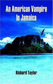 Cover of: An American Vampire In Jamaica