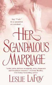 Cover of: Her Scandalous Marriage