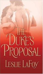Cover of: The Duke's Proposal | Leslie Lafoy