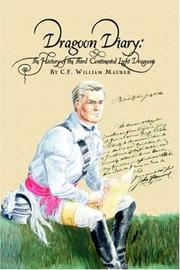 Cover of: Dragoon Diary | C.F. William Maurer