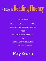 Cover of: 42 Days to Reading Fluency