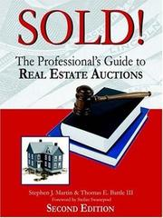 Cover of: Sold! | Stephen John Martin
