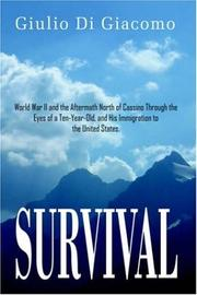 Cover of: SURVIVAL