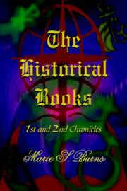 Cover of: The Historical Books | Marie S. Burns