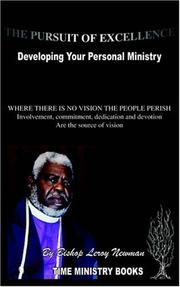 Cover of: The Pursuit of Excellence | Bishop Leroy Newman