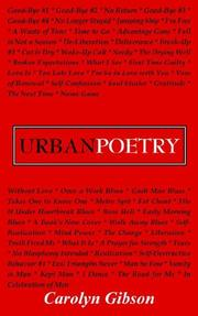 Cover of: Urban Poetry
