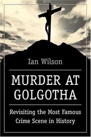 Cover of: Murder at Golgotha
