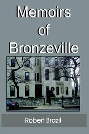 Cover of: Memoirs of Bronzeville