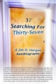 Cover of: Searching For Thirty-Seven | Jim, D. Hargan