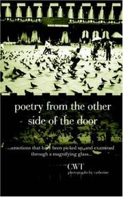 Cover of: Poetry From the Other Side of the Door