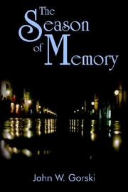 Cover of: The Season of Memory
