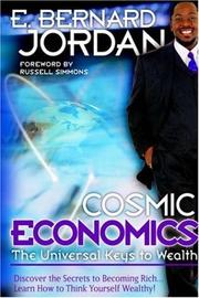 Cover of: Cosmic Economics by E., Bernard Jordan