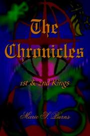 Cover of: The Chronicles