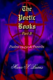 Cover of: The Poetic Books Part II