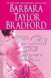 Cover of: To Be the Best