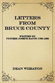 Cover of: Letters from Bruce County