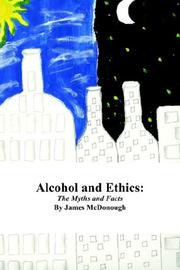 Cover of: Alcohol and Ethics