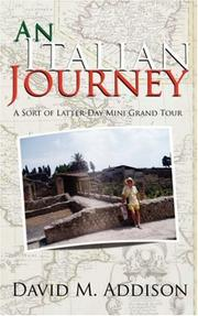 An Italian Journey by David M. Addison