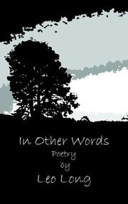Cover of: In Other Words | Leo Long