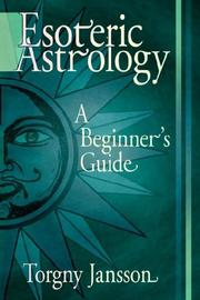 Cover of: Esoteric Astrology | Torgny Jansson