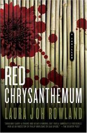 Cover of: Red Chrysanthemum: A Thriller (Sano Ichiro Novels)