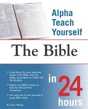 Cover of: Alpha teach yourself the Bible in 24 hours | Terry Whalin