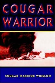 Cover of: COUGAR WARRIOR