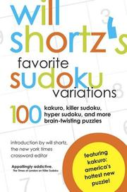 Will Shortzs Favorite Sudoku Variations