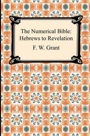 The Numerical Bible by F. W. Grant