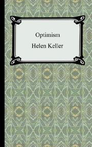 Cover of: Optimism
