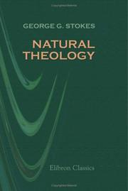 Cover of: Natural Theology