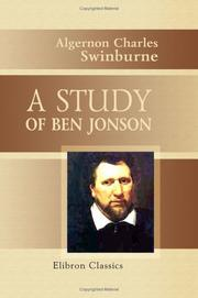Cover of: A study of Ben Jonson