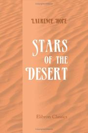 Stars of the desert by Laurence Hope