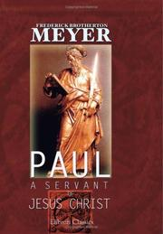 Cover of: Paul | Frederick Brotherton Meyer